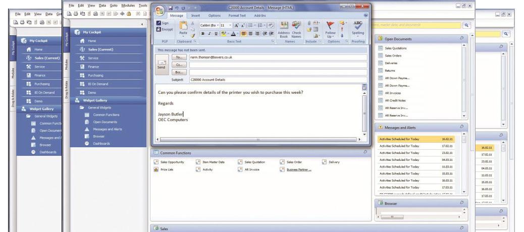 SAP® Business One: integrazione con Microsoft Office.